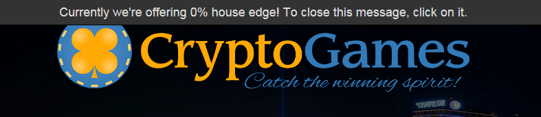 crypto-games.net 0% house edge offer