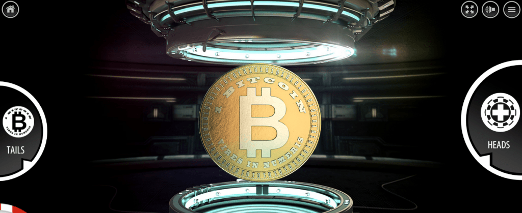Heads and Tails - bitcoin game
