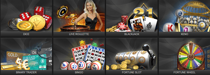 bitcoin casino games - fortunejack.com