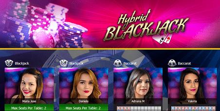 hybrid blackjack - 7bitcasino.com