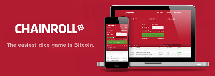 Chainroll.com - bitcoin dice site