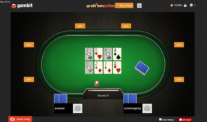 grab'em poker table screenshot