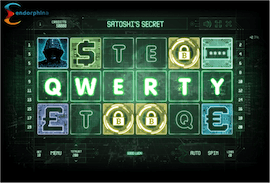 Satoshi's secret slot - QWERTY bonus screenschot