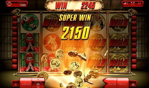 The Ninja slot - super win