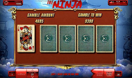 The Ninja slot gamble game