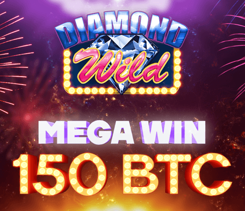 Diamond Wild - bitcoin mega win