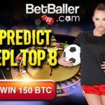 Irish Bitcoin Casino BetBaller offering 150 btc for correctly predicting Premier League Top 8