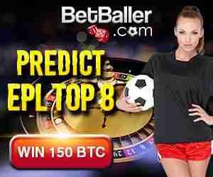 BetBaller giveaway: predict EPL top 8