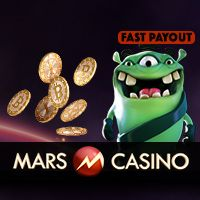 Mars bitcoin casino review