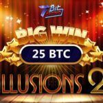 Huge 25 BTC win at 7BitCasino