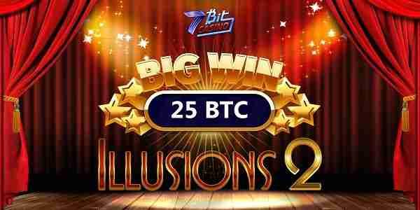 25 BTC win