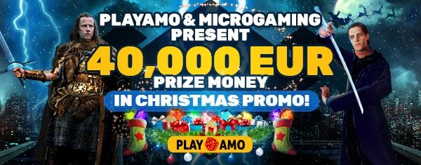 Playamo casino Christmas bonuses