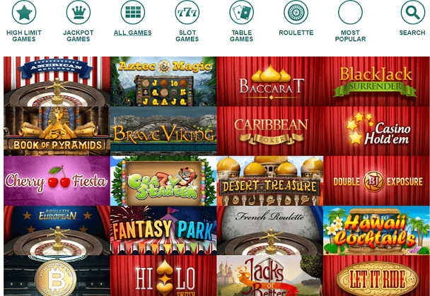 bitcoincasino.us casino games
