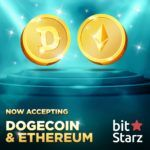 BITSTARZ ADDS ETHEREUM (ETH) AND DOGECOIN (DOGE) SUPPORT!