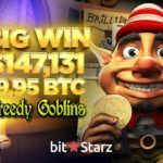 BitStarz Player Grabs a 19.995 BTC Win on Greedy Goblin!
