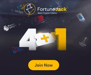 fortunejack 4 + 1
